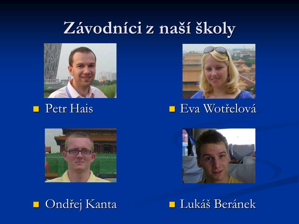 Naši bývalí studenti Olga Vejvodová (2004) Olga Vejvodová (2004) Ludmila Malinová (2006) Ludmila Malinová (2006) Jana Válková (2007) Jana Válková (2007) Jiří Spolek (2008) Jiří Spolek (2008)