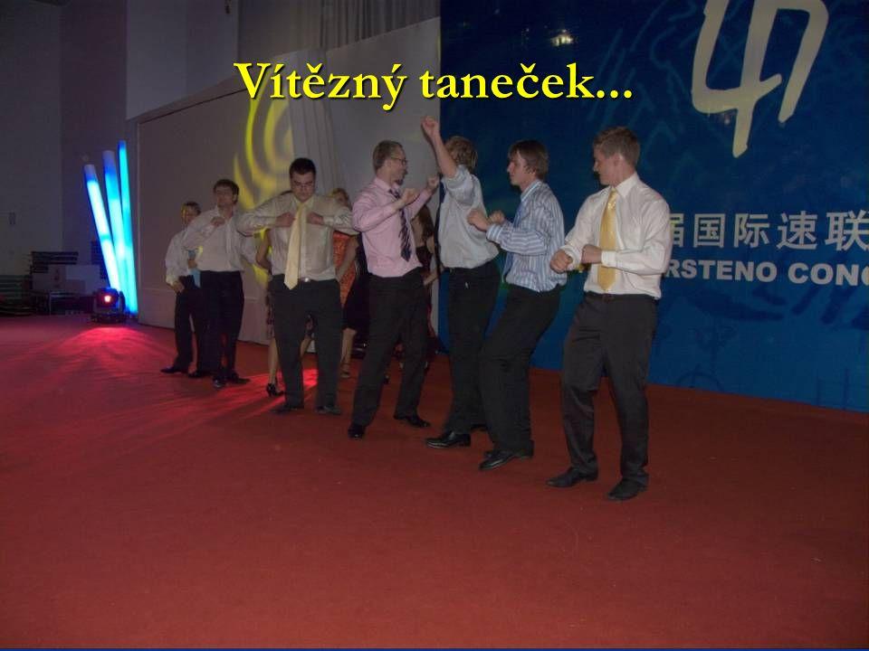 Vítězný taneček...