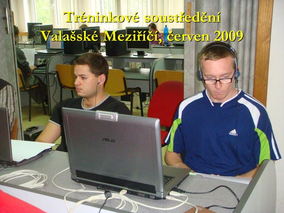 Tréninkové soustředění Město Albrechtice, červenec 2009