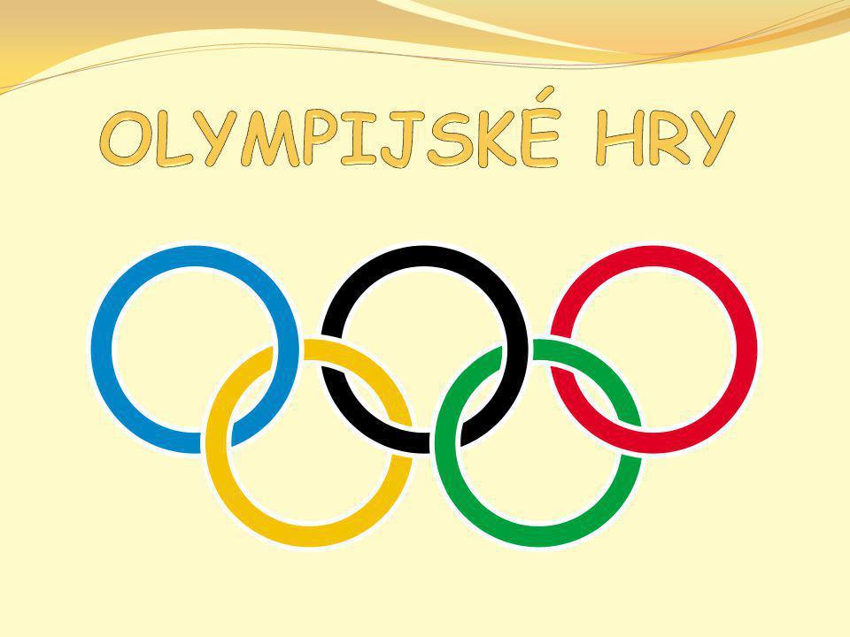 PŮVOD Počátek ve starověkém Řecku 776 před Kristem Hry se konaly ve městě Olympia, odtud také jejich název.