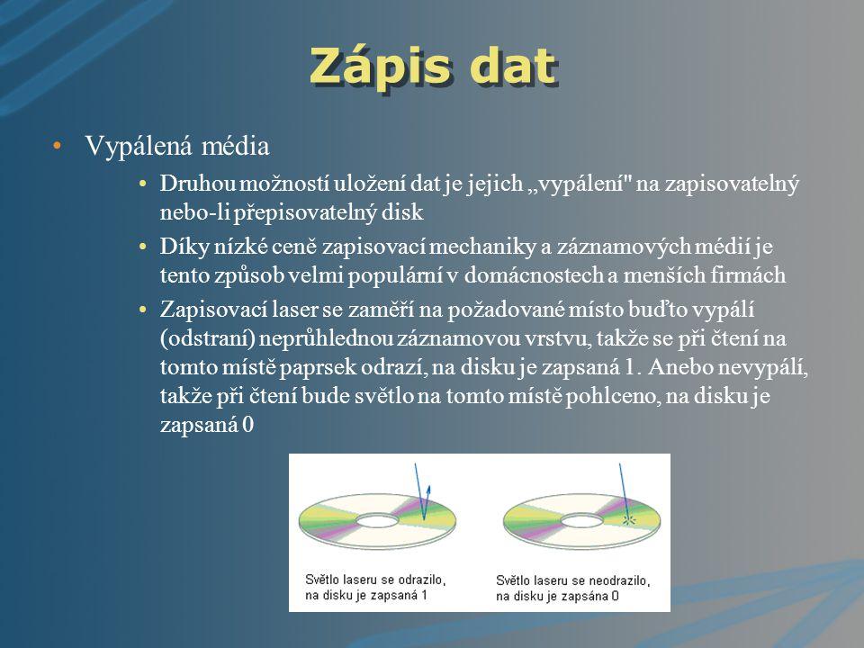 CD (compact disk) Kompaktní disk je obvykle nazývaný prostě CD podle zkratky anglického názvu compact disc; hovorově cédéčko, podle anglického hláskování [sídý] Náchylné na poškození