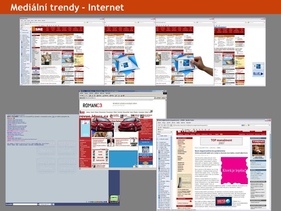 17 Mediální trendy - Internet