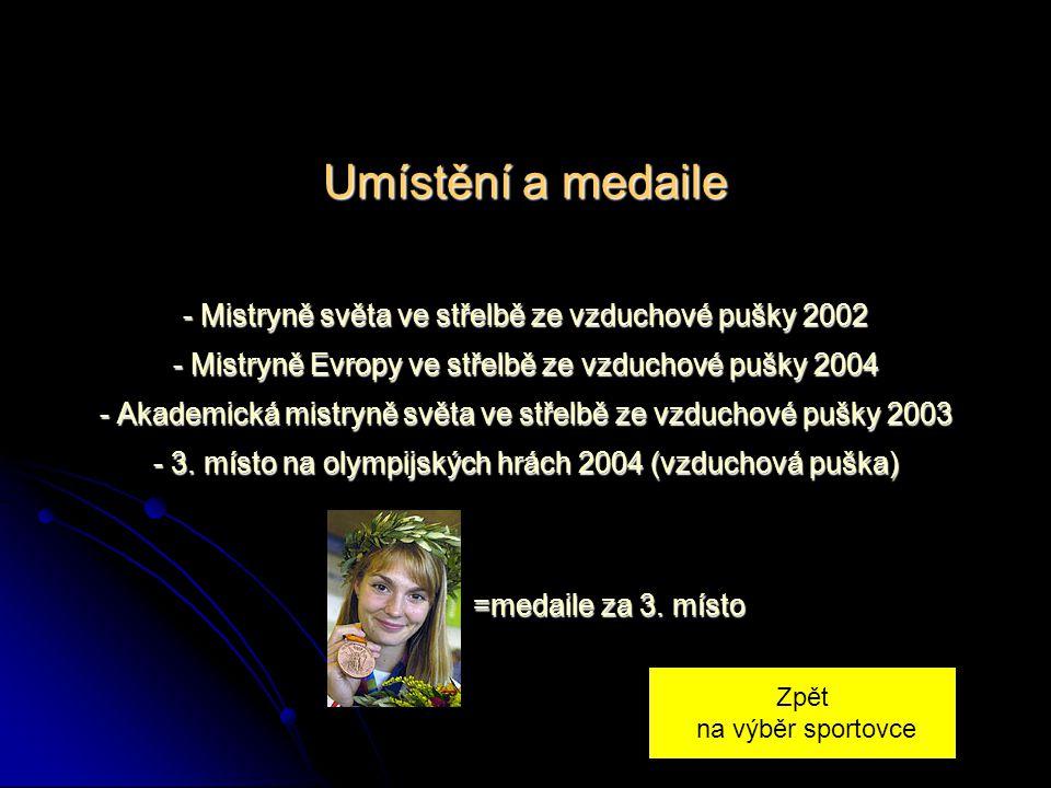 ŽIVOTOPIS Kateřina Kůrková toho za svou krátkou kariéru stihla zvládnout hodně. A na olympijských hrách v Aténách byla vůbec první, komu předseda olym