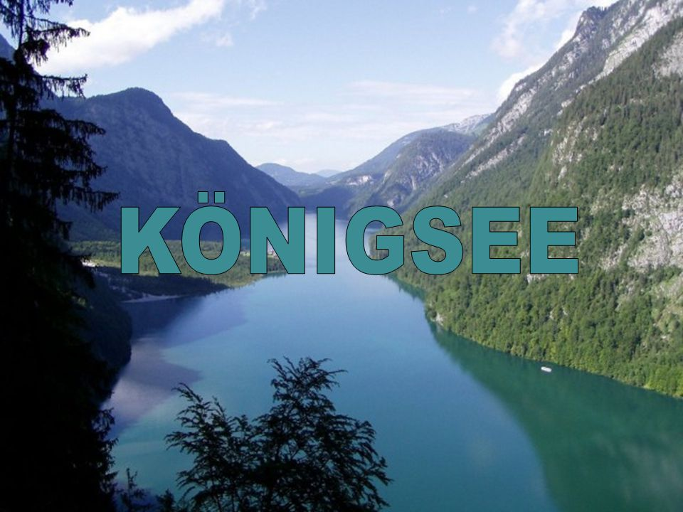 Alpská oblast Berchtesgaden J@ Prohlížení: Národní park