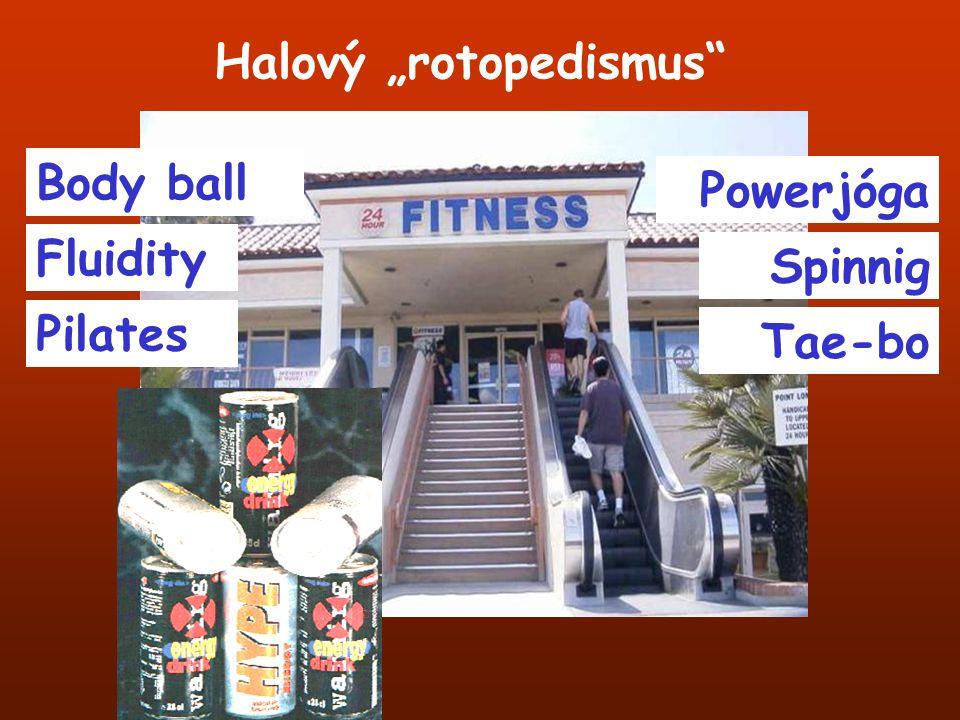 """Halový """"rotopedismus"""" Body ball Fluidity Pilates Powerjóga Spinnig Tae-bo"""