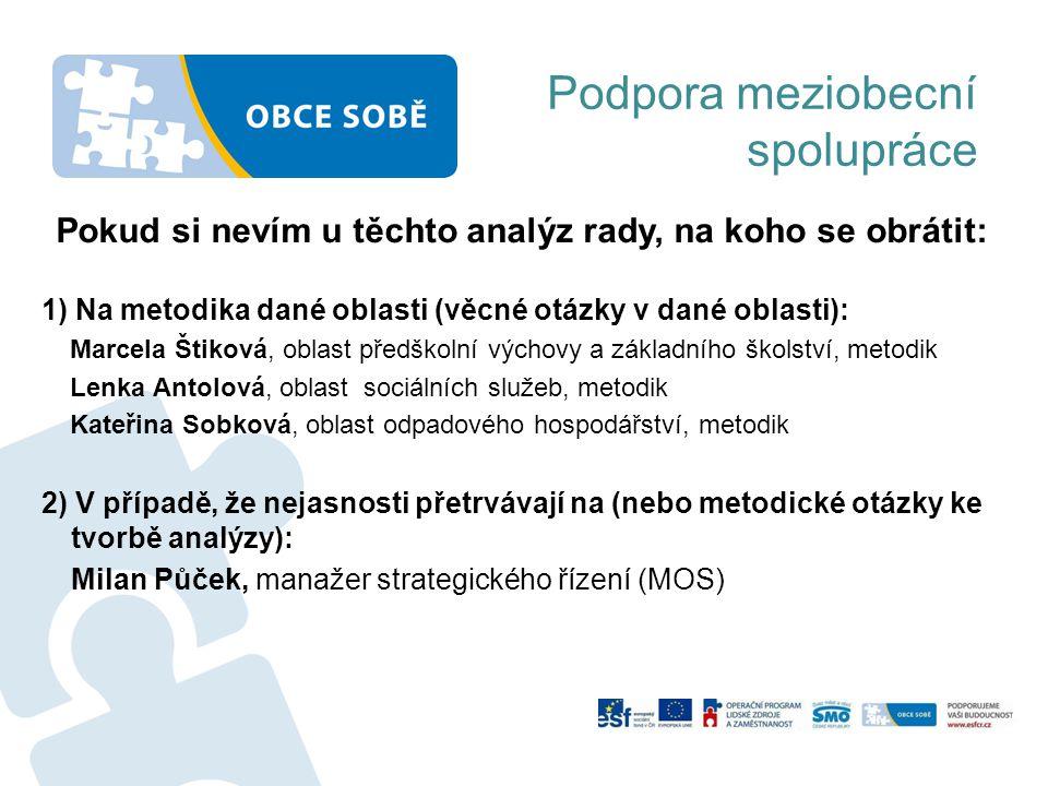 1) Na metodika dané oblasti (věcné otázky v dané oblasti): Marcela Štiková, oblast předškolní výchovy a základního školství, metodik Lenka Antolová, o
