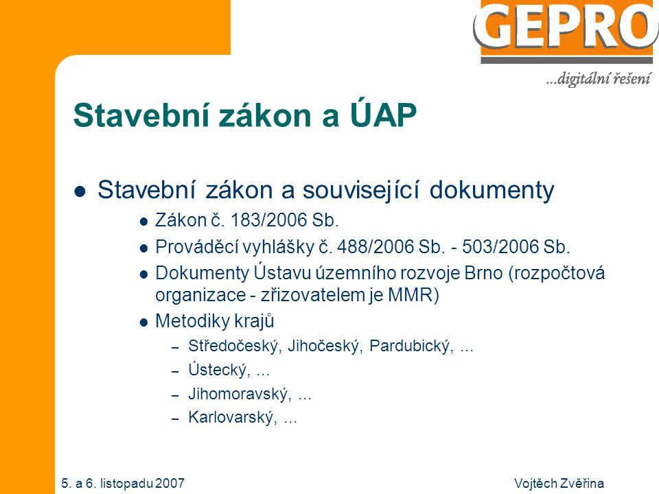 Vojtěch Zvěřina5.a 6. listopadu 2007 Stav.