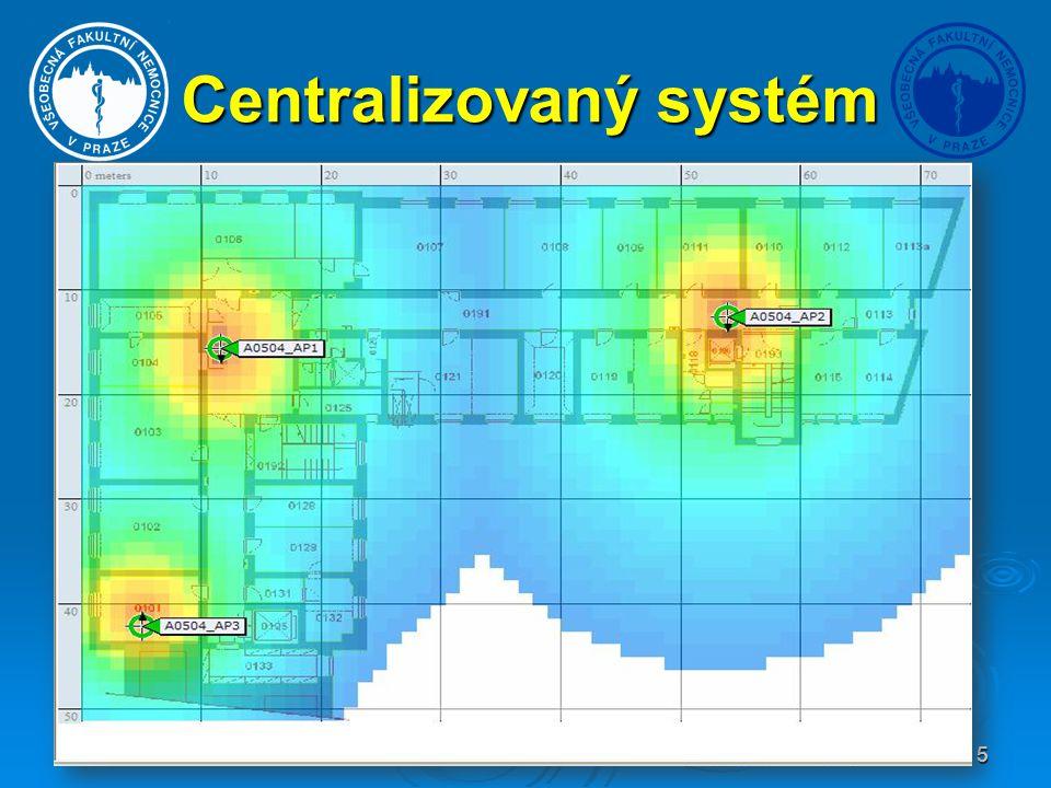5 Centralizovaný systém