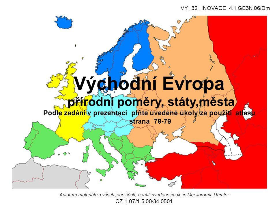 1.Kterými poledníky a rovnoběžkami je vymezena severní Evropa.