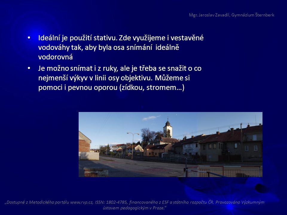 """Mgr. Jaroslav Zavadil, Gymnázium Šternberk """"Dostupné z Metodického portálu www.rvp.cz, ISSN: 1802-4785, financovaného z ESF a státního rozpočtu ČR. Pr"""