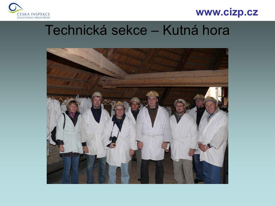 Technická sekce – Kutná hora www.cizp.cz