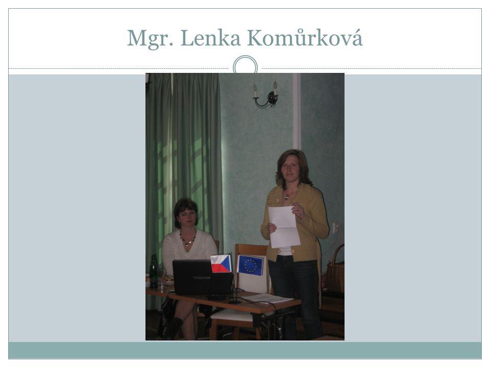 Mgr. Lenka Komůrková
