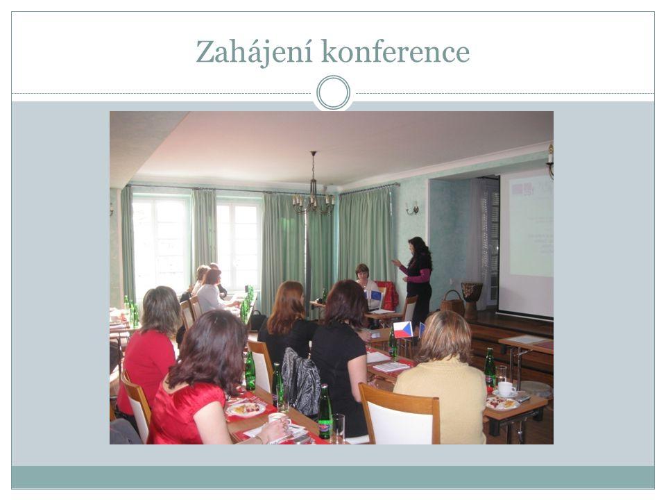 Konference se zúčastnilo 21 účastníků Další konference se uskuteční v březnu 2011 na konci realizace projektu.