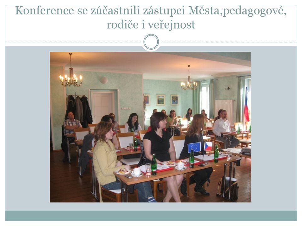 Konference se zúčastnila Ing.