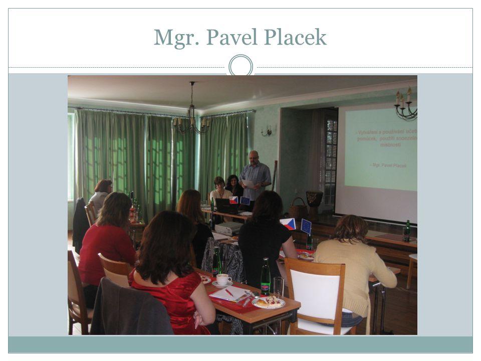 Mgr. Pavel Placek