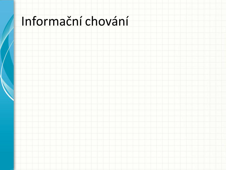 Informační chování