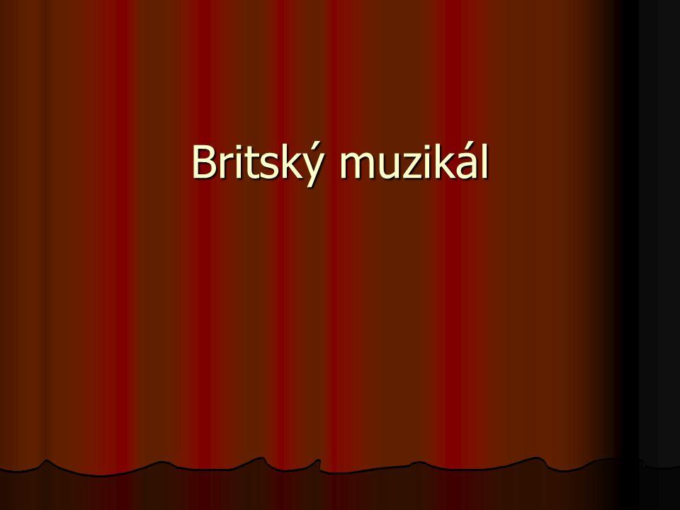 Britský muzikál