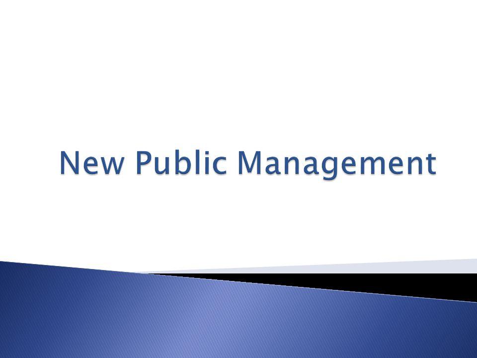  na službu orientované řízení veřejné správy resp.