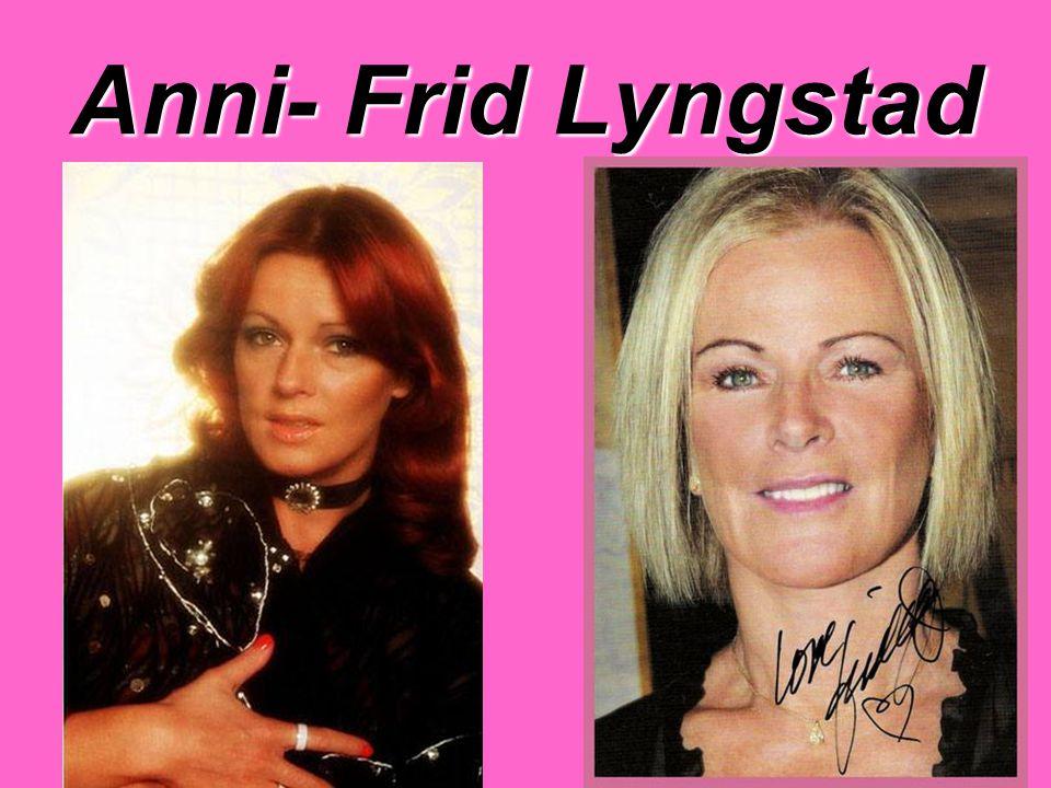 Anni- Frid Lyngstad