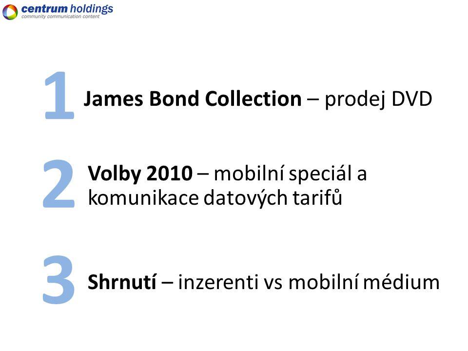 James Bond Collection – prodej DVD 1