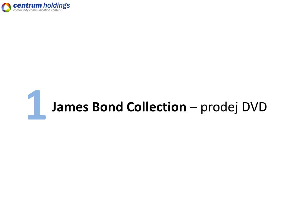 James Bond Collection – prodej DVD 1