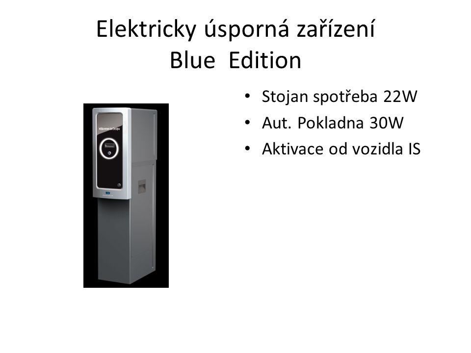 Elektricky úsporná zařízení Blue Edition Stojan spotřeba 22W Aut.