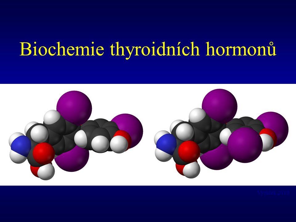 Transport thyroidních hormonů krví Thyroidní hormony jsou hydrofobní sloučeniny a proto jsou krví transportovány po navázání na transportní bílkoviny Hlavním transportním proteinem plasmy pro thyroxin je thyroxin vážící globulin (TBG).