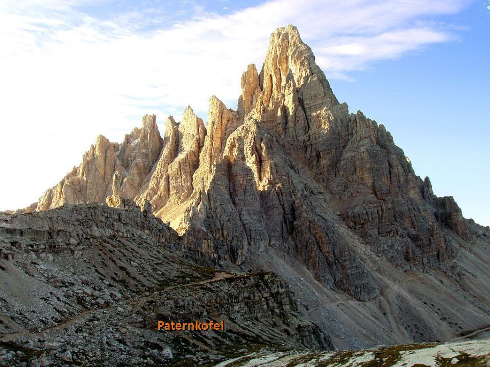 Monte Cristallo a Dürrensee