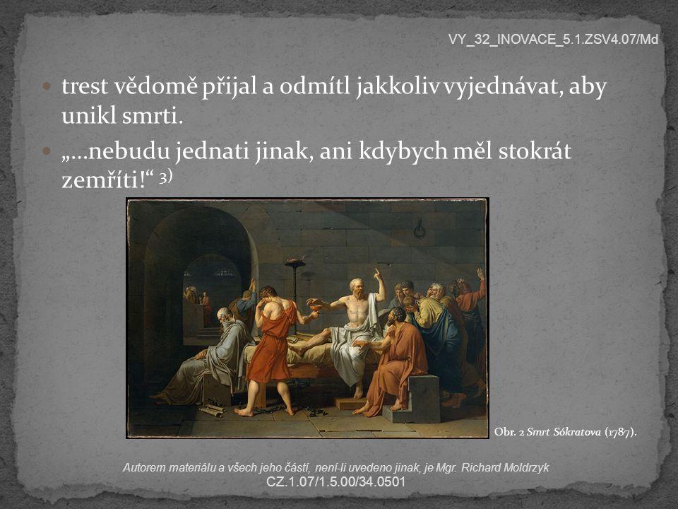 Kterého z jeho filozofických následovníků stihl stejný osud, ale na rozdíl od Sókrata se zachránil útěkem z Athén.