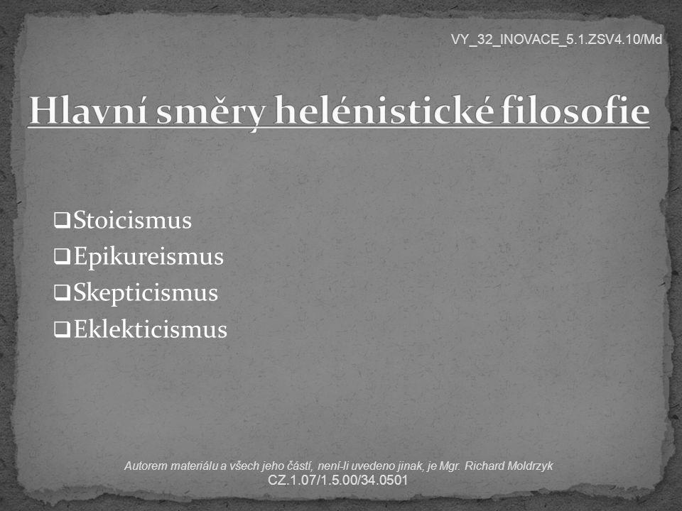 Jakým pojmem můžeme v češtině nahradit slovo skeptik.