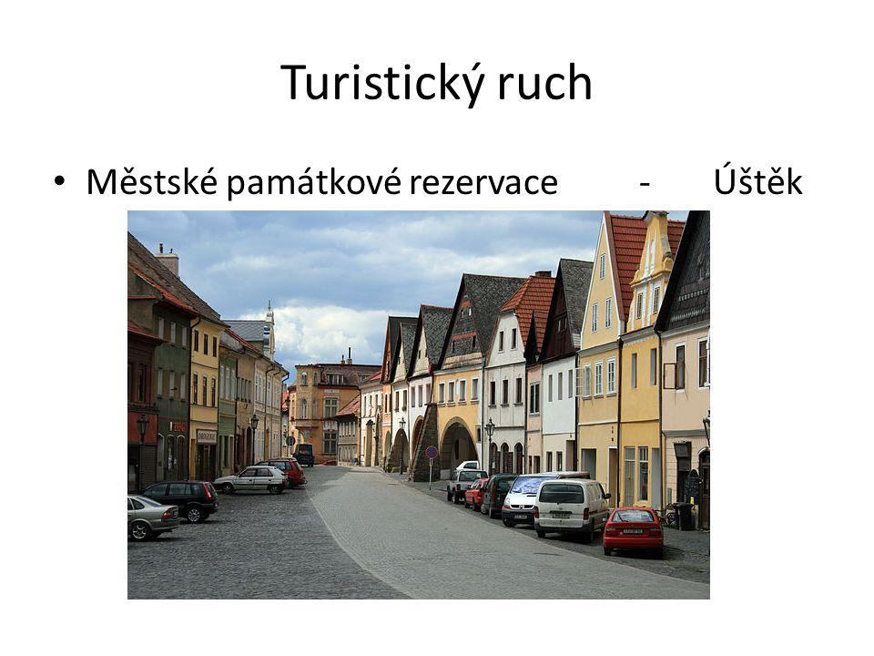 Turistický ruch Městské památkové rezervace - Úštěk