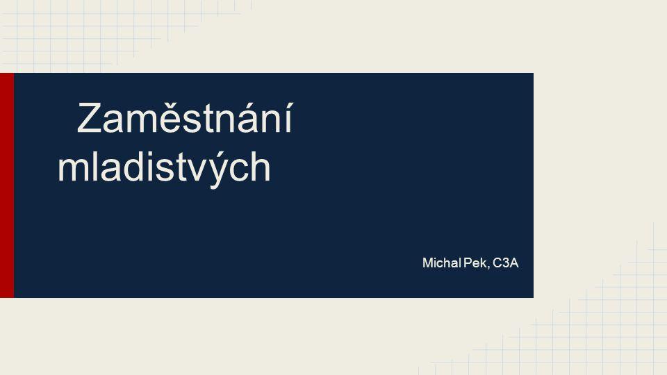 Zaměstnání mladistvých Michal Pek, C3A