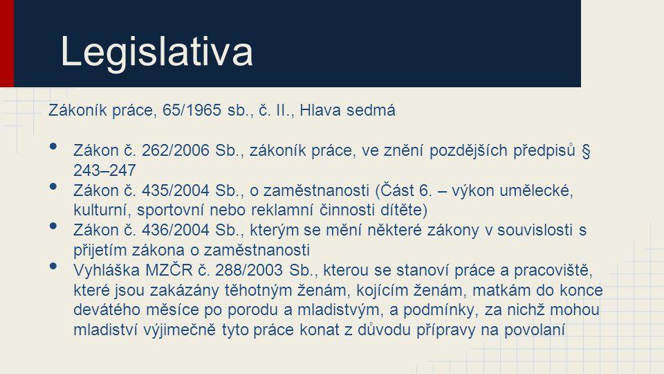 Legislativa Zákoník práce, 65/1965 sb., č.II., Hlava sedmá Zákon č.