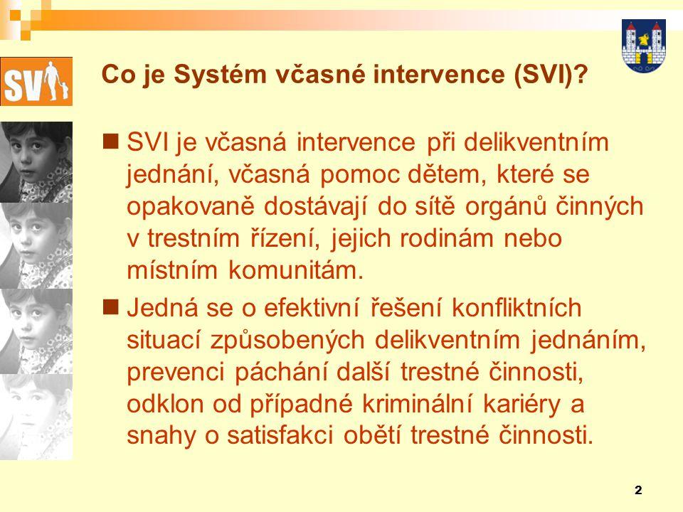 2 Co je Systém včasné intervence (SVI).