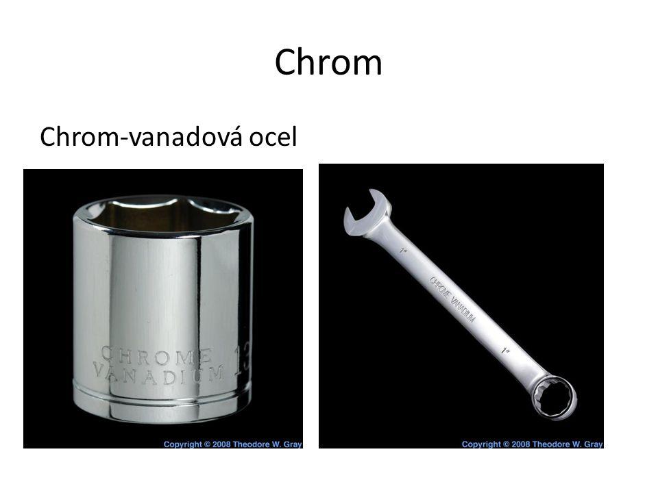 Chrom Chrom-vanadová ocel
