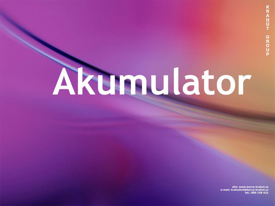 Akumulátor je technické zařízení na opakované uchovávání energie, obvykle elektrické.