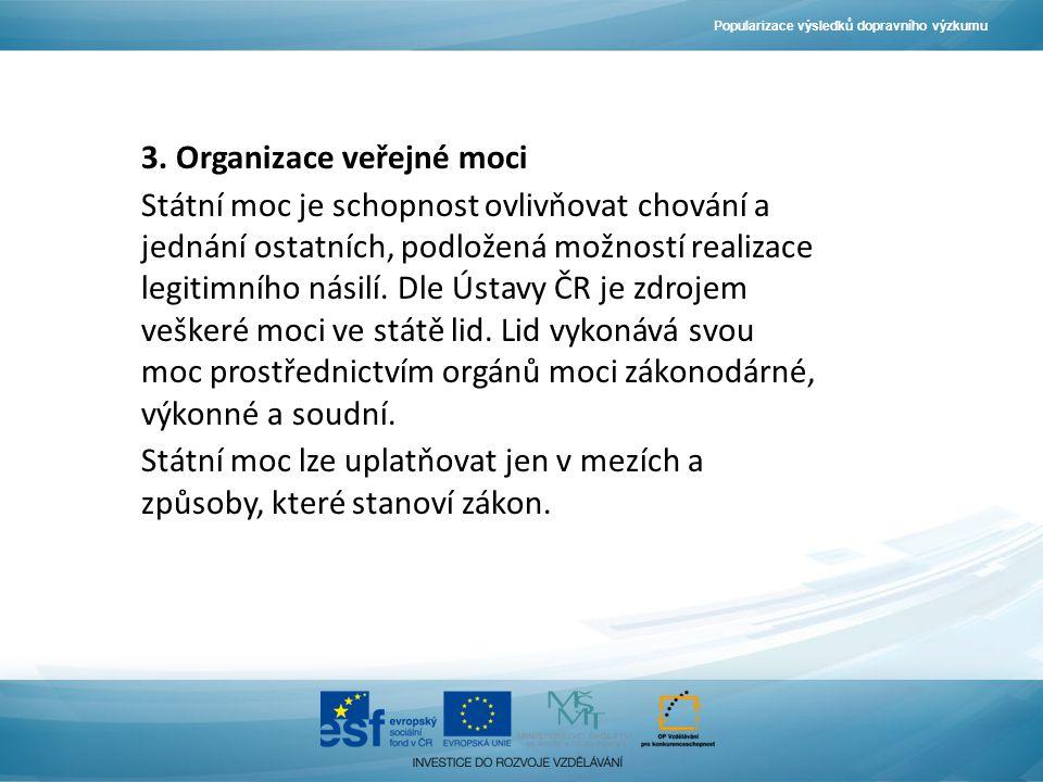 Popularizace výsledků dopravního výzkumu 3.