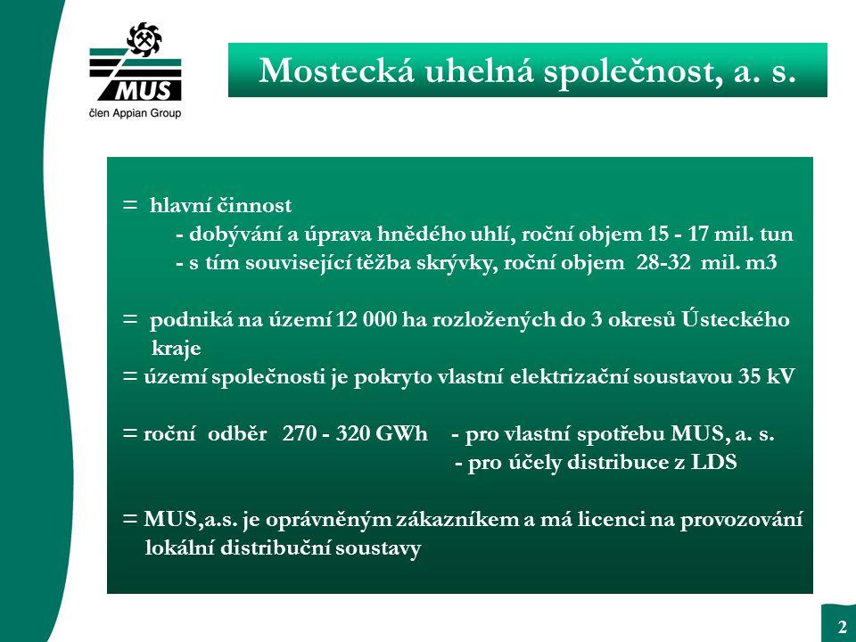2 Mostecká uhelná společnost, a. s.