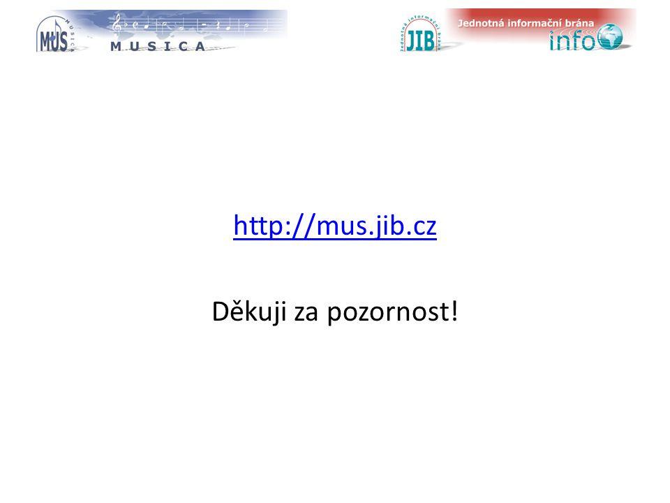 logo oborové brány http://mus.jib.cz Děkuji za pozornost!