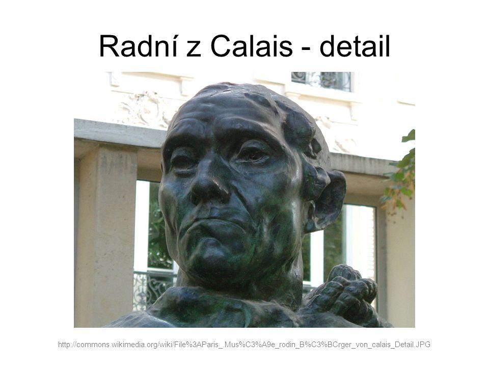 Radní z Calais - detail http://commons.wikimedia.org/wiki/File%3AParis_.Mus%C3%A9e_rodin_B%C3%BCrger_von_calais_Detail.JPG