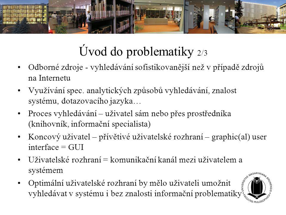 Databáze pro konkrétní obor 5/5 Přístup přes portál EIZ MU http://library.muni.cz/ezdroje - zdroje podle oborůhttp://library.muni.cz/ezdroje Příklady: Knihovnictví: LISA, ELIS, LLISLISAELISLLIS Literatura (angl., amer.): Literature OnlineLiterature Online Vzdělávání: EBSCO - vzděláváníEBSCO - vzdělávání Umění: Grove Art OnlineGrove Art Online Medicína: ProQuest – medicínaProQuest – medicína Interaktivní manuály k databázím (IS → E-Learning → Multimédia a interaktivní objekty → Další zakázky střediska v praxi → Interaktivita)