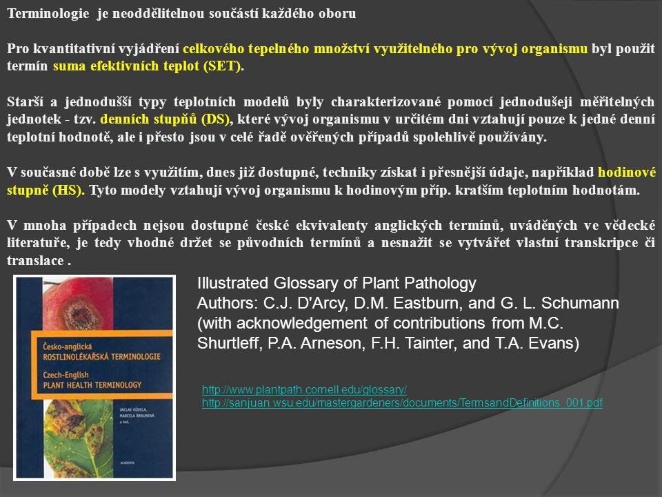 Informace ČHMÚ http://www.chmu.cz Informace získané v daném místě pomocí mini meteorologických buněk např.: http://meteostanice.agrobiologie.cz/ Informace přímo z porostu (elektronická čidla) Nedílnou součástí monitoringu v ohraně rostlin je druhá složka monitoringu a tou je v našem případě PROSTŘEDÍ
