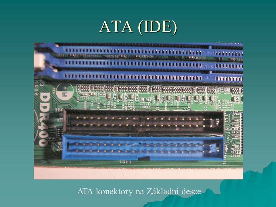 ATA (IDE) ATA konektory na Základní desce