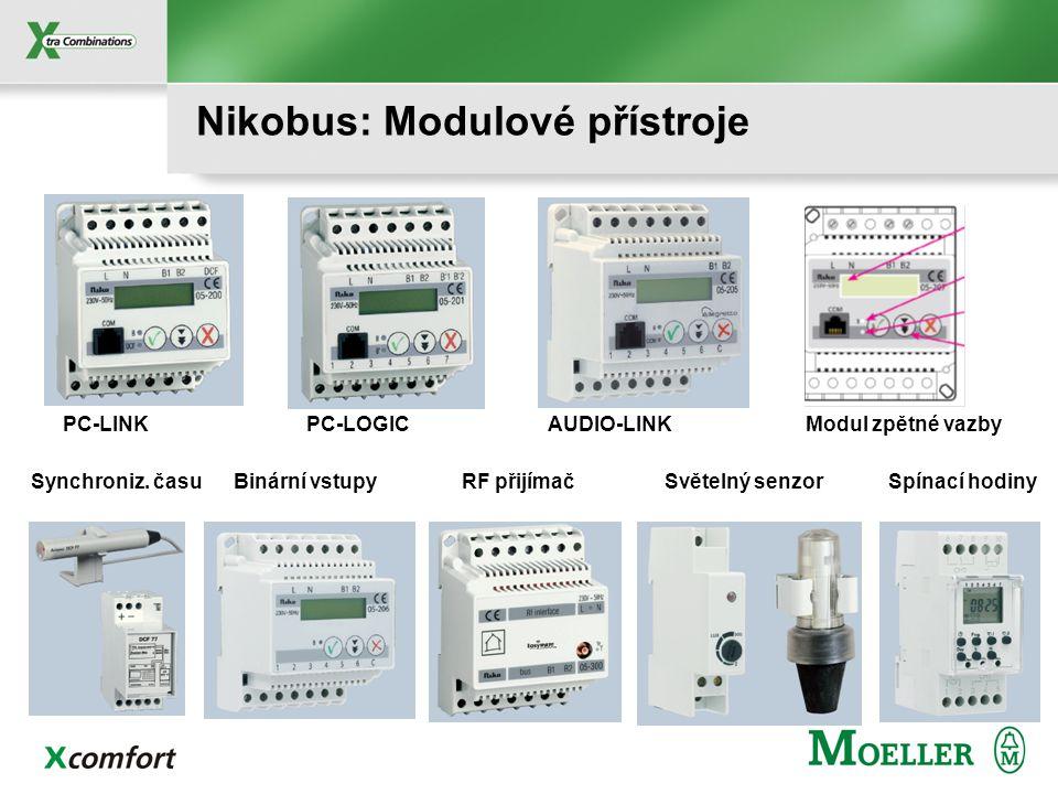 Nikobus: Dálkový IR ovládač PRONTO Univerzální ovládač pro TV, AUDIO, VIDEO, DVD, SAT, Nikobus, Allegretto 10 kanálů po 30 funkcích + 8 svět. Scén Od