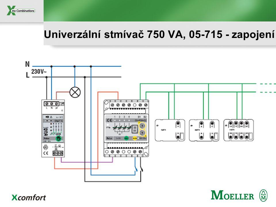 Pro NIKOBUS: 0-10V analogové řízení ze stmívací jednotky! Další možnosti řízení: 1-10V analogové řízení Tlačítkové ovládání - 1 tlačítko: s nebo bez p