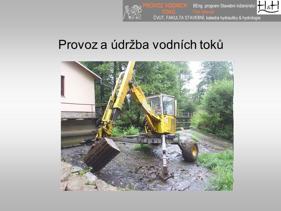Provoz a údržba vodních toků