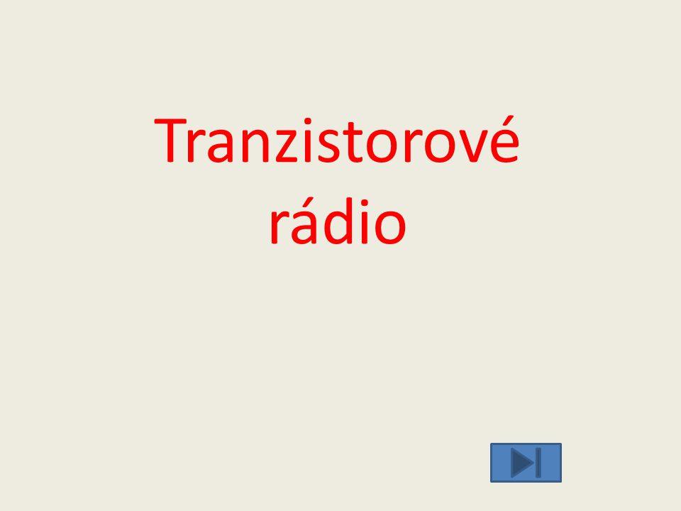 Tranzistorové rádio