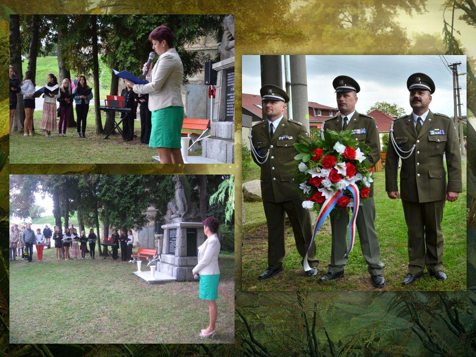 SVV MSK podpořilo v pátek 20.9.2013 pietní akci v obci Liptaň. V Liptani stojí pomník, který připomíná tragédii, kdy v nerovném boji s nacistickými or