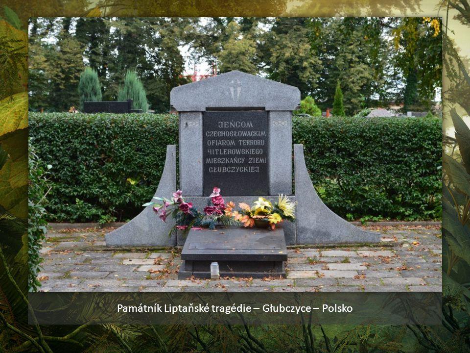 Bývalá četnická stanice č. p. 261 a pomník na domě, ve kterém bylo zavražděno šest příslušníků Stráže Obrany Státu henleinovci dne 22. září 1938