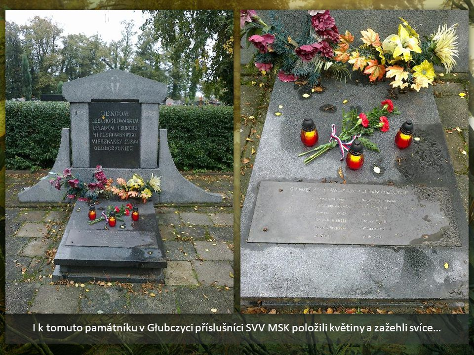 Památník Liptaňské tragédie – Głubczyce – Polsko